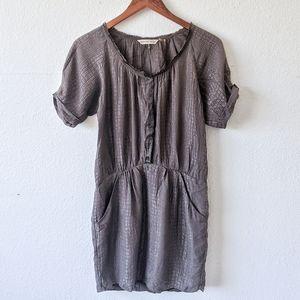 Rebecca Taylor Snake Textured Dress